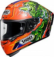 Shoei X-Spirit III Power Rush, integral helmet