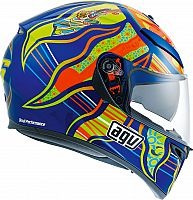 AGV K-3 SV VR46 Five Continents Replica, integral helmet