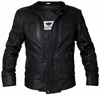 Blackbird Bomber, leather jacket