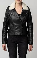 Blackbird Fly by Night, leather jacket women