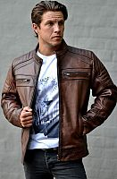 Blackbird Wakefield, leather jacket