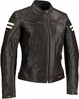 Segura Stripe, leather jacket women