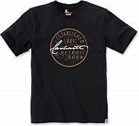 Carhartt Workwear Detroit Born Logo, t-shirt