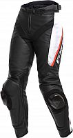 Dainese Delta 3, leather pants perforated women