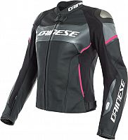 Dainese Racing 3 D-Air, leather jacket women