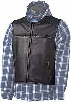 GC Bikewear Glide Biker, leather vest