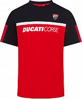 GP-Racing Apparel Ducati Corse Contrastyoke Red, t-shirt