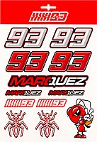 GP-Racing Apparel Marc Marquez 93 Ant, sticker set