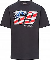 GP-Racing Apparel Nicky Hayden 69 Usa Flag, t-shirt