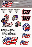 GP-Racing Apparel Nicky Hayden, sticker set
