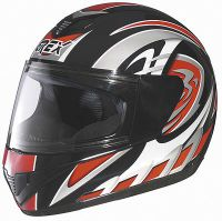 Grex R1 Decor black/red, integral helmet
