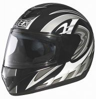 Grex R1 Decor black/silver, integral helmet