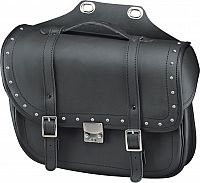 Held Cruiser Bullet, saddle bag with rivets