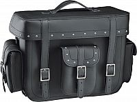 Held Cruiser Top Case, tail bag with rivets