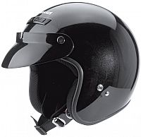 Held Rune black, jet helmet