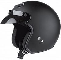 Held Rune matt-black, jet helmet