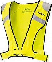 Held high visibility tabard