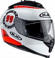 HJC IS-17 Lorenzo Angel 99 Replica, integral helmet
