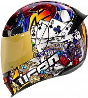 Icon Airframe Pro Luckylid 3, integral helmet