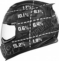 Icon Airframe Statistic, integral helmet