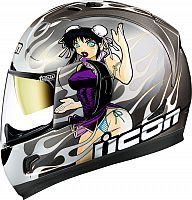 Icon Alliance GT DL18 Limited Edition, integral helmet