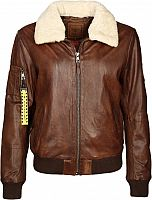 Top Gun Strong, leather jacket women