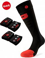 Lenz 5.0 Toe Cap Slim Fit, socks heated