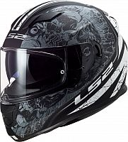 LS2 FF320 Stream Evo Throne, integral helmet