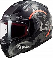 LS2 FF353 Rapid Circle, integral helmet