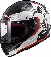 LS2 FF353 Rapid Ghost, integral helmet