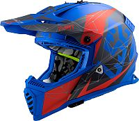 LS2 MX437 Fast Evo Alpha, cross helmet