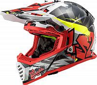 LS2 MX437 Fast Evo Crusher, cross helmet