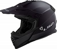 LS2 MX437 Fast Evo Solid, cross helmet