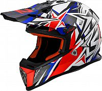 LS2 MX437 Fast Strong, cross helmet