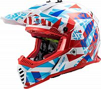 LS2 MX437J Fast Evo Funky, cross helmet kids