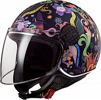 LS2 OF558 Sphere Lux Bloom, jet helmet