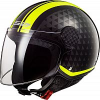 LS2 OF558 Sphere Lux Crush, jet helmet