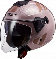 LS2 OF573 Twister II Combo, jet helmet