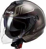 LS2 OF573 Twister II Flix, jet helmet