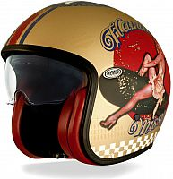 Premier Vintage Pin Up, jet helmet