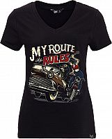 Queen Kerosin My Route My Rules, t-shirt women