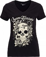 Queen Kerosin Skull Rose, t-shirt women