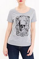 Queen Kerosin Skull, t-shirt women