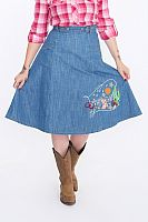 Queen Kerosin Western, skirt women