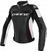 Dainese Racing 3, leather jacket perforated women