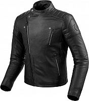Revit Vaughn, leather jacket