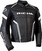 Richa Assen, leather jacket