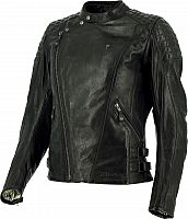 Richa Chanelle, leather jacket women