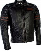 Richa Curtiss, leather jacket