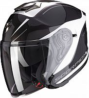 Scorpion EXO-S1 Shadow, jet helmet